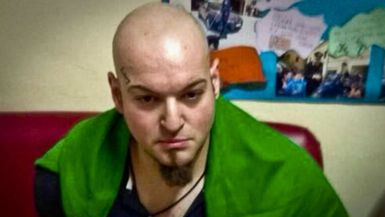 Luca Traini, who is accused of having shot with a firearm to several people in Macerata, Italy, last month.