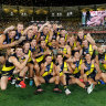 The 2020 premiership team.