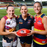 Crows captain at 'centre-half bench' for AFLW grand final
