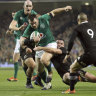 Ireland stun All Blacks to lay down Rugby World Cup marker