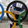 Tokyo 2020 mascot Miraitowa.