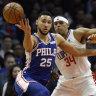 Simmons' NBA All-Star bid on shaky ground
