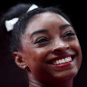 Brilliant Biles wins vault gold to tie world championships medal record