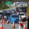 'Everyone is getting stuck on the motorway': More traffic delays at Queensland border