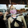 Face masks to become the latest trend in Spring Racing carnival fashion.