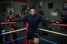 Convicted murderer Khalid Baker wants to clear his name and represent Australia in the world titles.