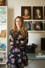 Writer Astrid Scholte.
