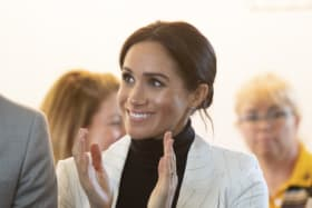Dear Meghan, welcome to motherhood. The gloves are off