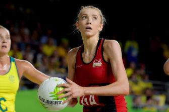 Hero: Helen Housby shot England to Commonwealth Games glory.