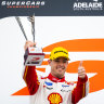 McLaughlin drives into history with third straight Supercars title
