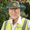 Wesley College lollipop man Andrew Rourke is retiring after 21 years in serice.