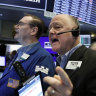 Wall Street finishes flat as trade deal jitters hover
