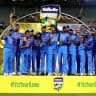 Dhoni leads way for India as Australia's World Cup plans take a hit
