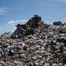 Calls to freeze landfill levy to protect businesses from collapse