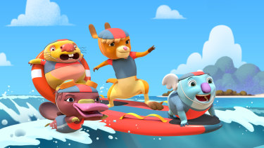 New kids show Kangaroo Beach is the brainchild of Tim Bain, who has written for the likes of Bluey and Fireman Sam.