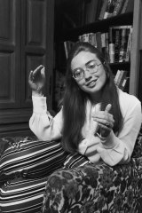 Hillary at Massachusetts' Wellesley College, from which she graduated in 1969.