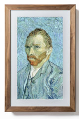 The Canvas is available in a very nice wooden frame, for a premium.