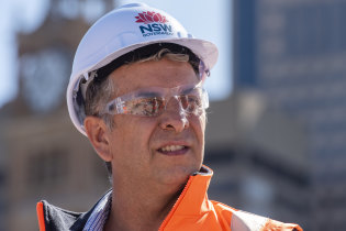 Minster for Transport Andrew Constance says the Sydney Metro won't be delayed by the COVID-19 shutdown.