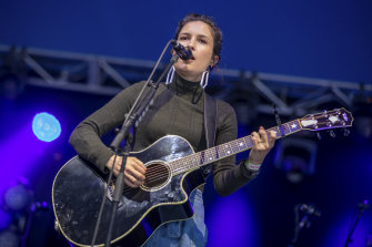 Missy Higgins performs at Queenscliff Music Festival.