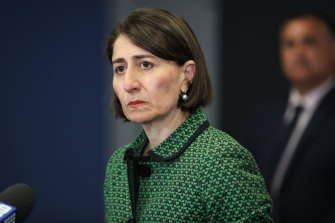 NSW Premier Gladys Berejiklian says there is nothing illegal about pork barrelling.