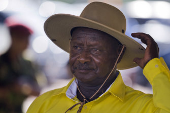 Uganda's long-time President Yoweri Museveni seized power in 1986.