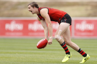 Daniher hasn't played an AFL match for the best part of a year after battling osteitispubis.