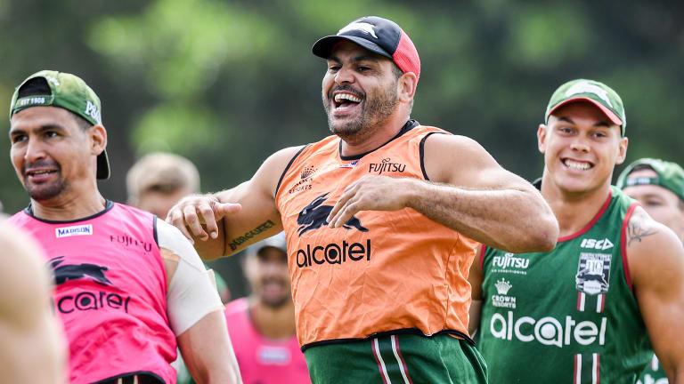 Ready and raring: Inglis will start the season in the centres.