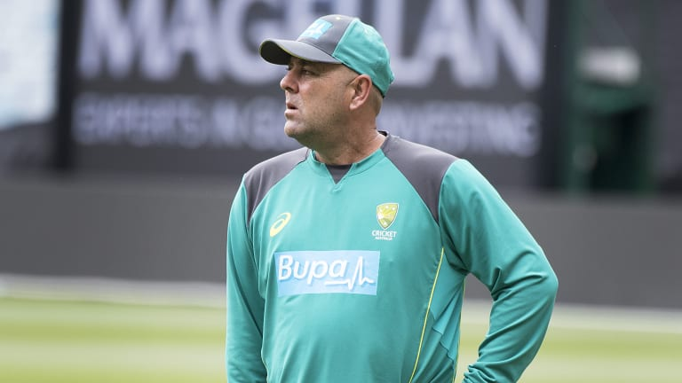 Australian coach Darren Lehmann.