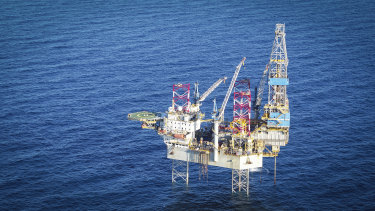 Santos will begin drilling new gas wills using the Noble Tom Prosser jack-up rig.