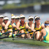 'Pretty upsetting': Australia miss medals in rowing eight, Canada and NZ win