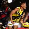 As it happened: Richmond Tigers ease past Essendon Bombers, Western Bulldogs blow Melbourne Demons away, Port Adelaide Power survive Hawthorn Hawks fright, Fremantle Dockers outdo Sydney Swans