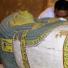 Egypt opens sarcophagus of 3000-year-old mummy