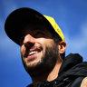 Daniel Ricciardo yearns to be back on the F1 podium.