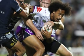 Kaufusi's Origin hopes on edge after being put on report in Storm win