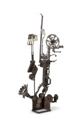 Robert Klippel, No. 251 1970 brazed and welded steel and found objects.