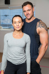Controversial couple Ines and Bronson from Married at First Sight.
