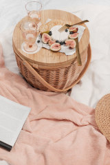 Australian brand The Beach People picnic basket, $199.