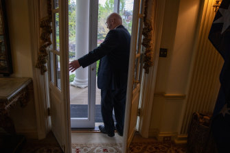White Oaks, the official resident of the Australian ambassador in Washington DC, will be able to host guests again now that Sinodinos and most of the Biden White House have been vaccinated.