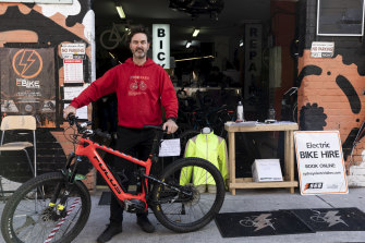 Jake Southall, founder and owner of Sydney Electric Bikes.