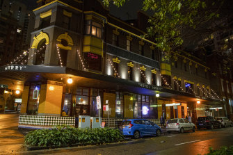 Harpoon & Hotel Harry in Surry Hills.