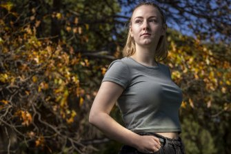 University student Caitlin Lavery.