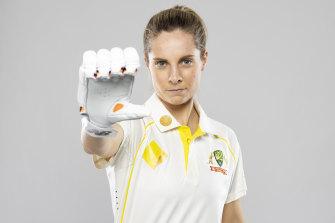 Sophie Molineux has been working with Australian cricket great Belinda Clark.