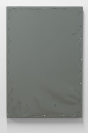 Ian Burn, <i>Grey Reflex</i>, 1966-67 in <i>Paintings amongst other things</i> at ANCA Gallery.
