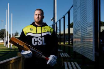Aaron Gray, deputy chairman of Newcastle District Cricket Association.