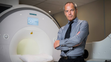 Pofessor Vaughan Macefield is researching the way stress may rewire our brains to result in high blood pressure.