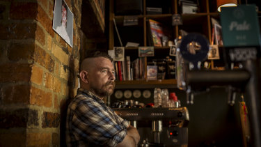 Fitzroy bar owner Paul Thompson has challenged estimated gas bills of more than $8000.