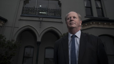Rohan Brown, the former deputy principal at Trinity Grammar.