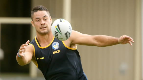 Hayne's back in blue and gold and just one of the boys, says Arthur