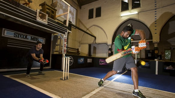 The 131-year-old church hall reincarnated into a cricket ground