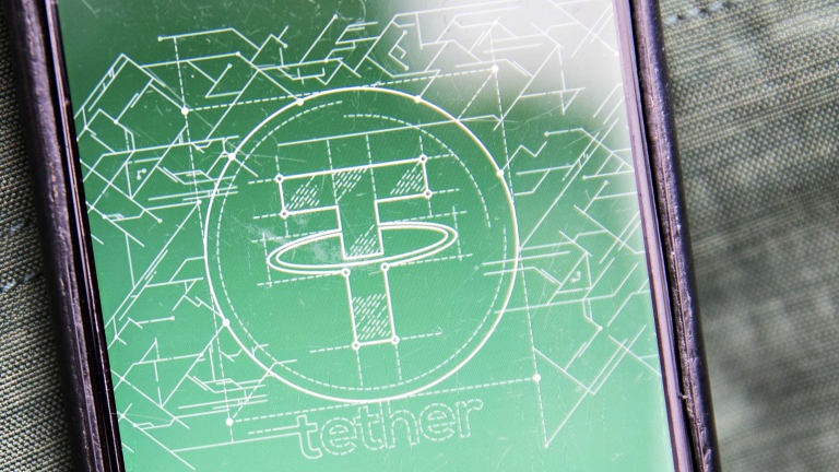 Tether, which claims to be pegged one-to-one to the dollar, is the most prominent among so-called stable coins.